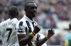 Papiss Cisse had a job when he was 15... as an ambulance driver