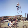 This 14ft-high bike ride will make you feel dizzy