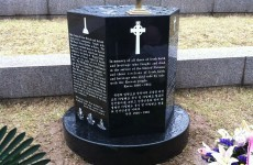 Memorial for Irish war heroes erected in South Korea
