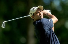 In the swing: Shiv Chowrasia makes home advantage count but no such luck for Fred Couples