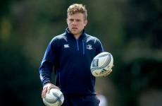 Sexton starts at 10 for Leinster, Madigan partners O'Driscoll