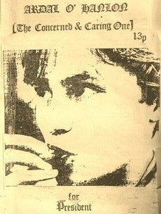 Here's Ardal O'Hanlon's student election leaflet from 1985