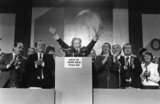 Fianna Fáil's 1980 Ard Fheis... with added Larry Gogan (and fancy raffle prizes)