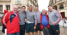 Here's your 'Average Munster Fans Living It Up in Montpellier' pic of the day