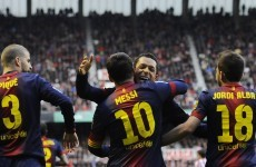 Listen to Ray Hudson lose control at Messi's brilliance in Bilbao