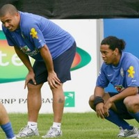 Coach: Ronaldo wore nappies while playing for Brazil