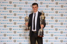 Tottenham's Gareth Bale crowned PFA Player of the Year