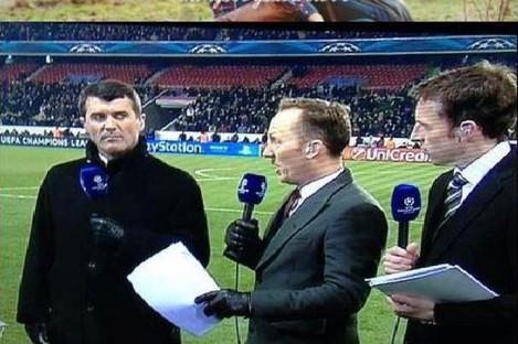 Death Stare: Roy Keane, Lee Dixon and Gareth Southgate
