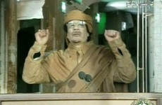 Gaddafi refuses to resign - and says he will die a martyr if necessary