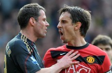 Sparks to fly as Jamie Carragher joins Gary Neville on Sky Sports next season
