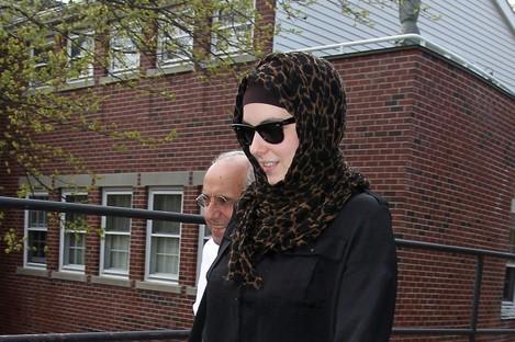 Katherine Russell wife of Boston Marathon bomber suspect Tamerlan Tsarnaev.