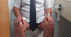 7 tips for a peaceful poo at work
