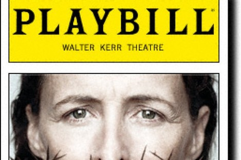 Fiona Shaw stars in the one-woman play