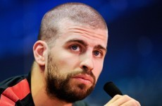 Gerard Pique '100 per cent' confident Barca will turn Bayern tie around