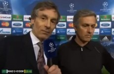 The internet is deeply confused and/or angry with ITV for cutting off Jose Mourinho