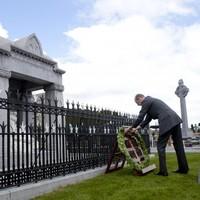 Duke of Kent makes history as first royal to lay wreath at 1916 memorial