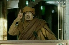 """Gaddafi vows to crush the revolt """"house by house"""" as protests escalate"""