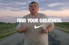 The chubby jogger from Nike's Olympics ad has lost a lot of weight