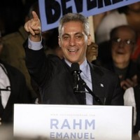 Rahm Emanuel elected Mayor of Chicago
