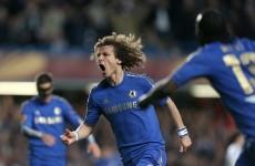 Sublime David Luiz goal the Chelsea cherry as they reach Europa Final