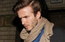 The Dredge: SCARLET for David Beckham over his music collection