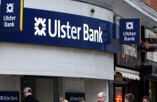 Ulster Bank lost €1,500 a minute in the first three months of 2013