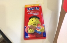 There are just 24 Tayto chocolate bars in the whole of Australia...