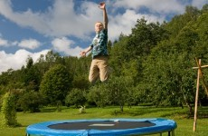 Trampolines and bouncy castles can be a danger to children, warn doctors