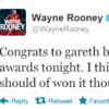 Get off the fence, Wayne! It's the sporting tweets of the week