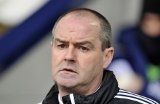 Steve Clarke not happy after Adrian Chiles insults Peter Odemwingie