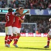 VIDEO: Quick-fire Walcott lifts Arsenal into third