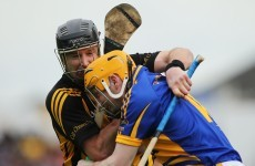 Your 'Lar and JJ in hurling combat' pics of the day