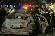 Five die after bridal shower limousine bursts into flames