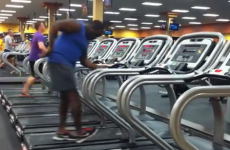 This dancing man is having the best workout ever