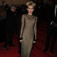 Famous people being punks at the Met Ball 2013