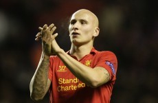 Jonjo Shelvey hopefully shouted 'eat my goal' when he scored against United last night
