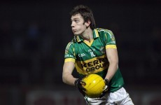 Kerry player Moran waits to discover damage to eye after freak accident