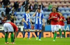 Wigan's great escape halted after twice surrendering lead to Swansea