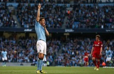 Dzeko volley hands Man City victory over the Baggies
