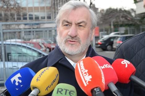 LRC chairman Kieran Mulvey