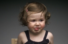 Kids tasting things for the first time... in slow motion