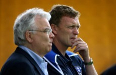 Toffees chairman Kenwright braced for Moyes exit