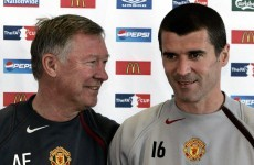 Did you hear Roy Keane's musical farewell to Alex Ferguson this morning?