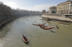 'We're ashamed': Rome river too dirty for tourists