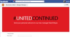 United jump Facebook gun, name David Moyes coach 15 minutes too soon