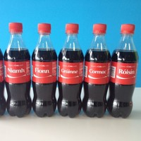Well, this never happened at the Coca-Cola factory!