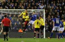 Nugent header hands Foxes the advantage in promotion play-off