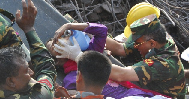 Woman found alive 17 days after Bangladesh building collapse