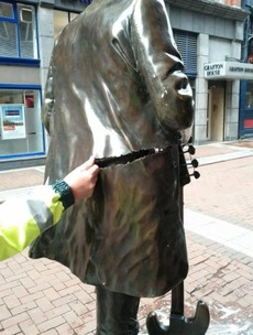 Two arrested after Phil Lynott statue pushed over and seriously damaged