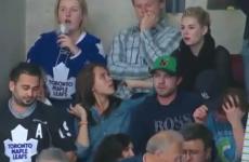 Elisha Cuthbert denies 'death stare' rift with fellow ice hockey WAG